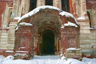 Вход в Рдейский монастырь