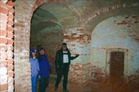 В подвалах Рдейского монастыря