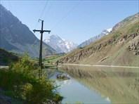 Озеро на р.Пянж