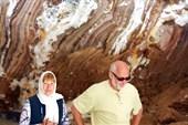 в соляной пещере
