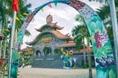 Ворота в парк развлечений Suoi Tien. Сайгон
