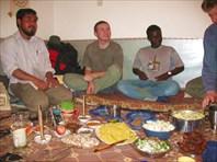 Интернациональный праздничный ужин