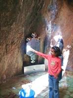 Внутри зороастрийского храма