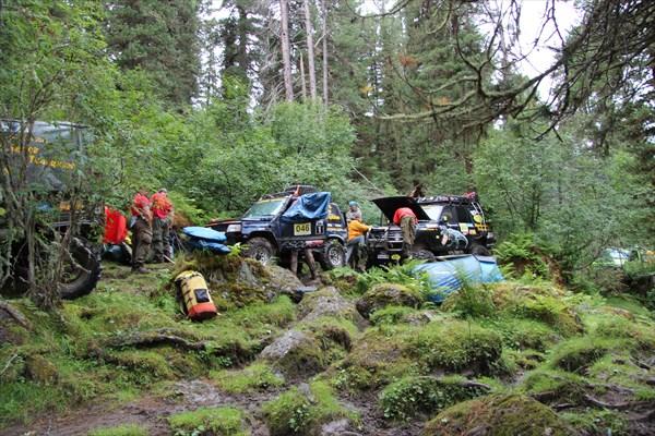 Лагерь на тропе
