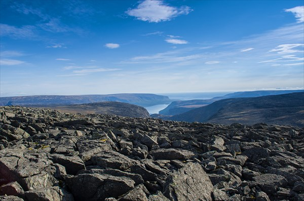 На плато Сенгисчорр