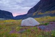 Лагерь в  долине Чинглусуай