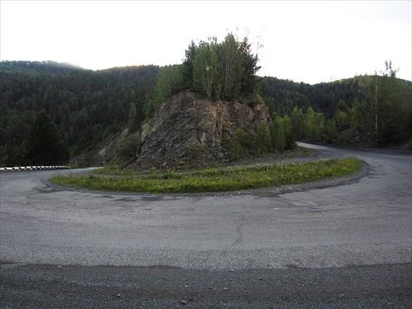 Петля на Абазинском перевале.
