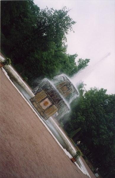 "Петергоф. Нижний парк. ""Римский фонтан"""
