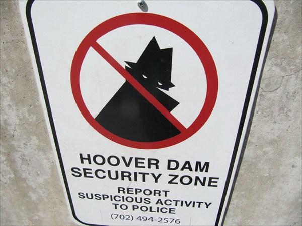Дамба Хувера. Штат Невада