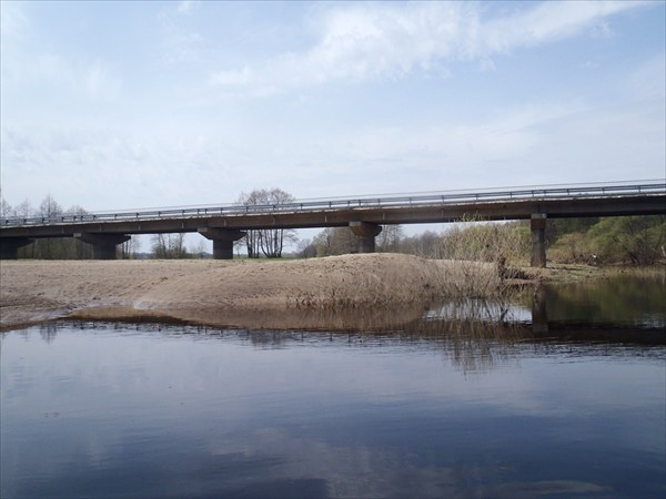 Мост. Конечная точка маршрута.