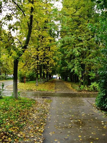 Осенняя улица.