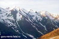 Вид с пер.Кара-Буура (3300 м)