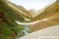 Дорога закрыта лавинами