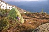 Подари мне рассвет, у зеленой палатки.