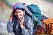 20.11.2009 г. Женщина из деревни Raindjam. Lower Tsum