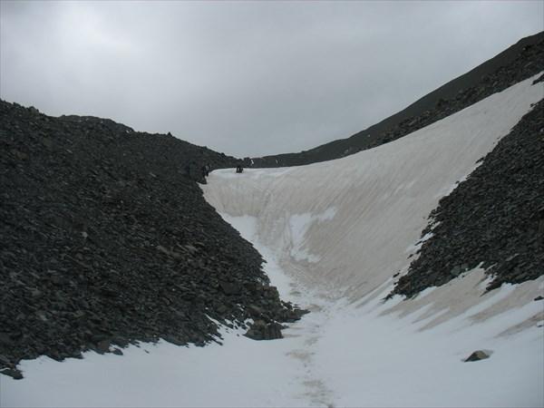 Спуск с перевала Рублевского