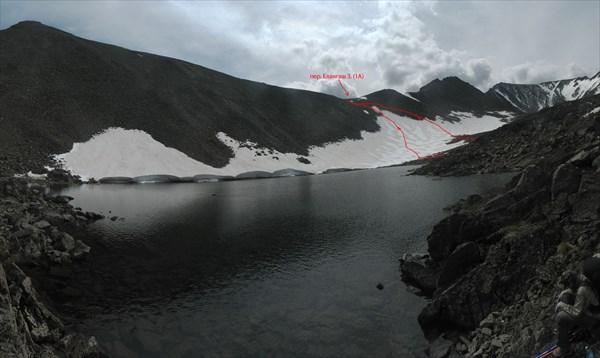 Озеро под перевалом