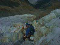 Подъем по ледопаду