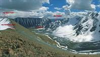 Вид с на долину Елангаш