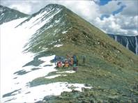 Группа на перевале Рублевского