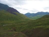 Вид на низовья долины р. Тара.