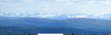 С вершины 1698,2 открываются далёкие виды