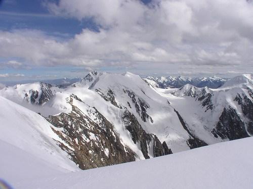 Верховья ледника Правый Маашей