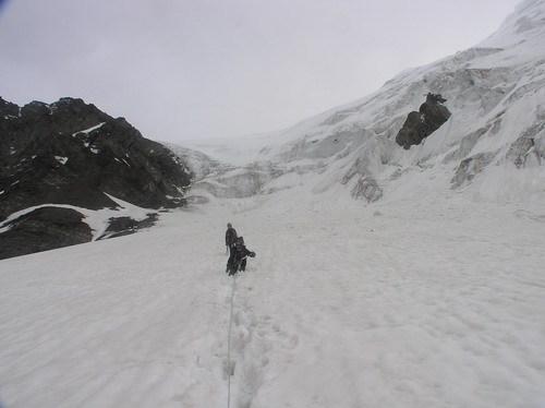 Спуск с перевала Маашей