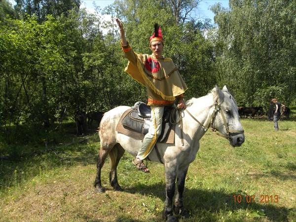 Костюмированный конный тур