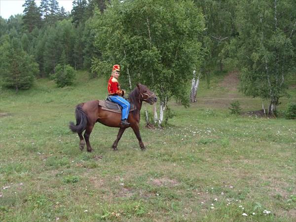 Костюмированный конный поход 2013 года