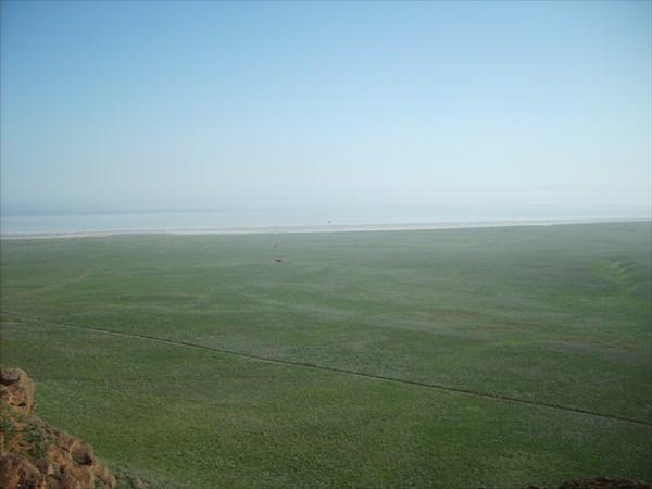 Вид с горы на юг