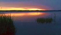 Закат над Стержем