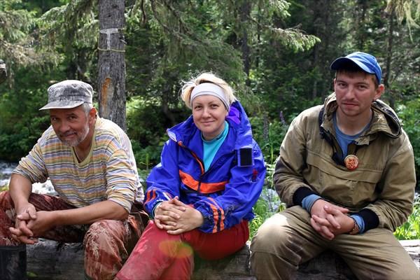 Олег, Лена и Коля.