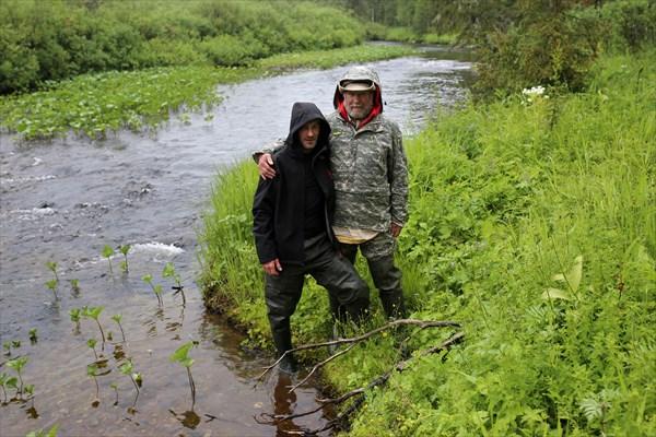 Валера и Юрий Петрович.