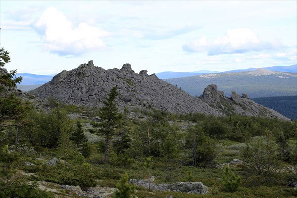 Южная оконечность плато.