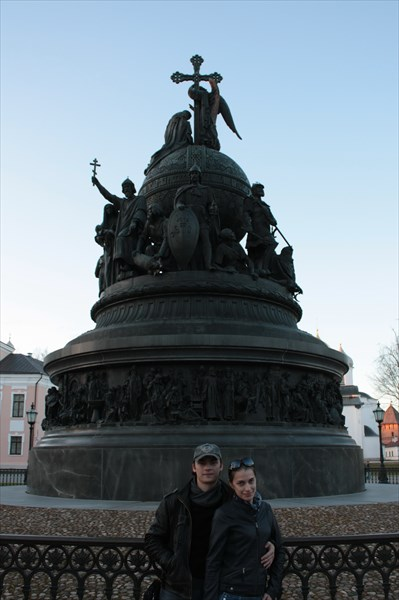 Памятник «Тысячелетие России» 1862
