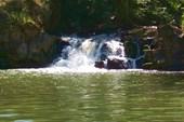 Водопад `Шумок` в с. Каменка.