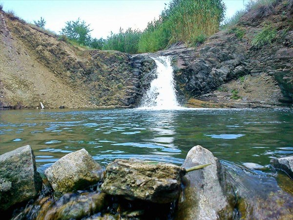 Водопад в Бирюково.