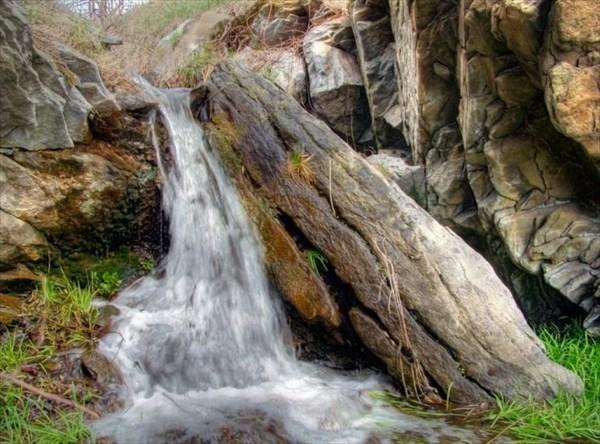 Водопадик в Вахрушево.