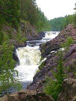 575535-водопад Кивач