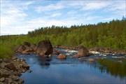 Река Кола в Магнетитах 1
