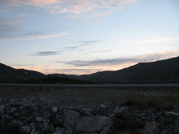 Ночь на плато