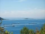 В дымке - остров Андёй, на котором мы были в начале путешествия