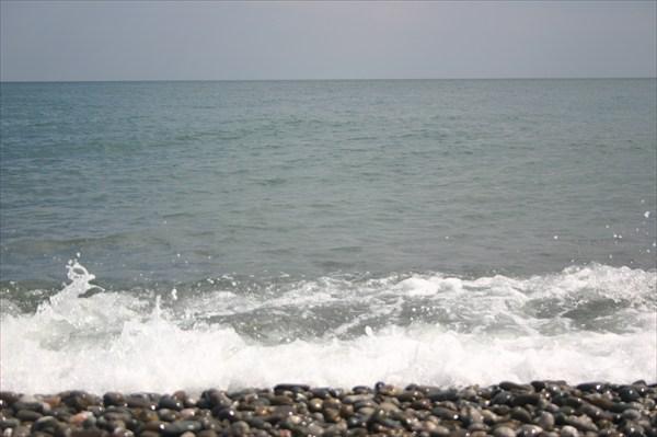 Берег Черного моря в Рыбачьем
