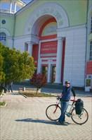 Начало нашего веломаршрута по Крыму
