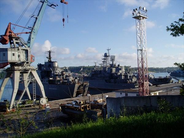 Российский флот или то, что от него осталось.