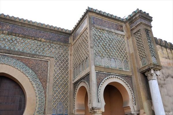 Мекнес. Ворота Баб Мансур