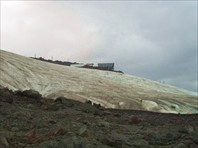 Станция Мир и ледник Азау