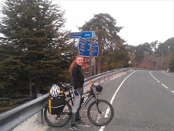 2 км до вершины Олимпа