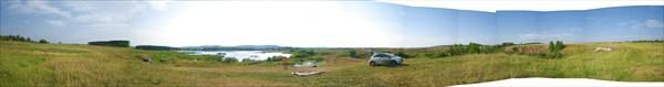 Панорама Устиновских известняков